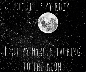 bruno mars and talking to the moon image