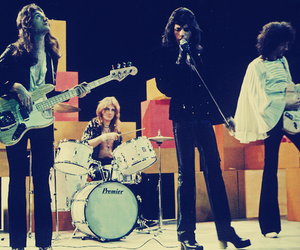 70s, Freddie Mercury, and Queen image