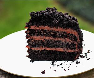 cake, chocolate, and oreos image