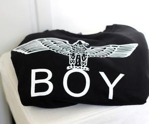 boy, fashion, and black image