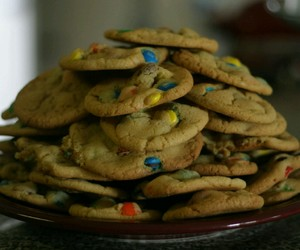 cookies and smarties food image