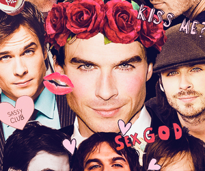 Collage, ian, and the vampire diaries image