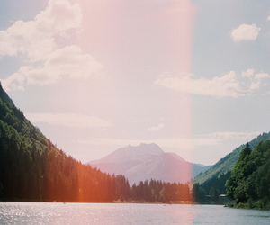 hipster, mountains, and nature image