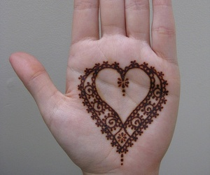 heart and henna image