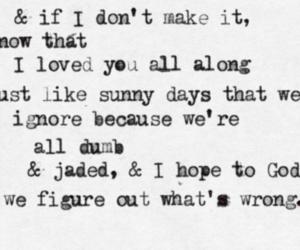 4am, Lyrics, and music image