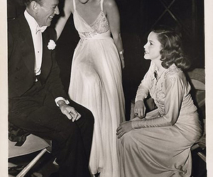 fred astaire, ginger rogers, and judy garland image
