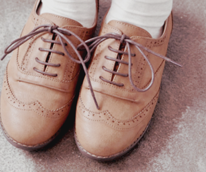 shoes, cute, and brown image