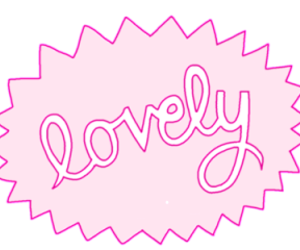 lovely, overlay, and pink image