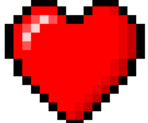 heart and overlay image