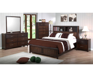 bed, bedroom, and storage bed image