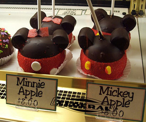 candy, minnie, and california adventure park image