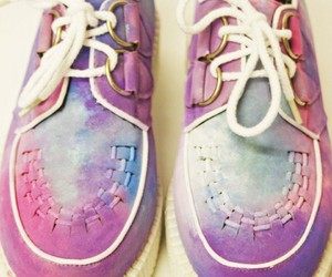 creepers, galaxy, and love image