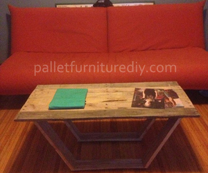 pallet coffee table image