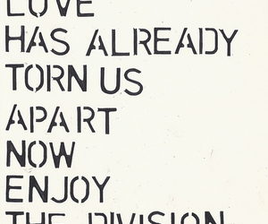 typography and joy division image