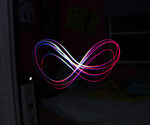 light, infinity, and forever image