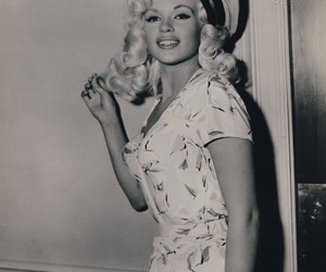 jayne mansfield, vintage, and blonde image