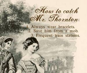 north and south, gaskell, and thornton image