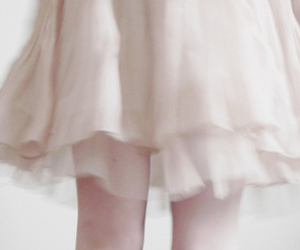 girl, dress, and pale image