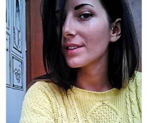 brunette, eyebrows, and katyaarchibald image