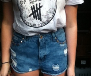5sos, outfit, and shorts image