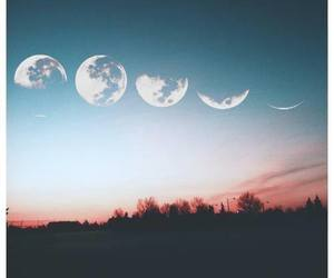 moon phases, Harry Styles, and colours image