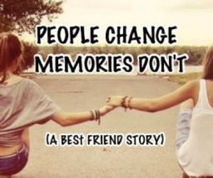 Best, change, and friend image