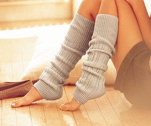 girl, legs, and socks image