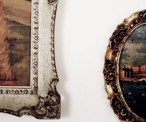 art, frame, and painting image