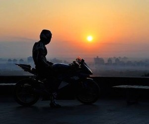 boy, hobby, and motorcyclist image