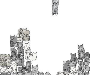 cat, tetris, and game image