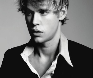 chord overstreet, glee, and black and white image