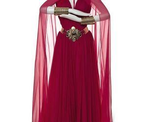 dress, aladdin, and escada image