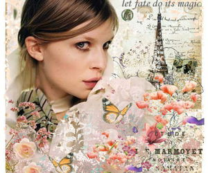 clemence poesy, Collage, and girl image