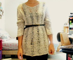 clothes, fashion, and jumper image