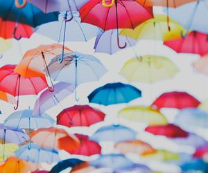 umbrella and rain image