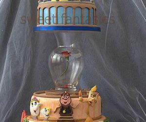 cake, beast, and beauty and the beast image