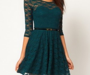 asos, colored lace dress, and vintage lace dress. image