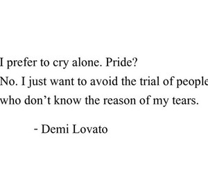 demi lovato, alone, and demi image