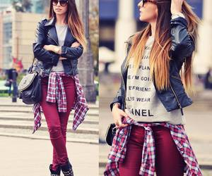 chanel, girl, and outfit image