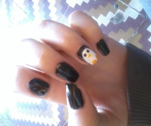 nail art, peb, and pinguim image