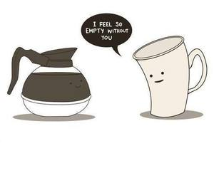 coffe, cute, and funny image
