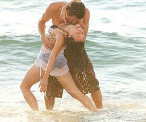 love, beach, and dance image