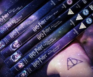 harry potter saga and harry potter movies image