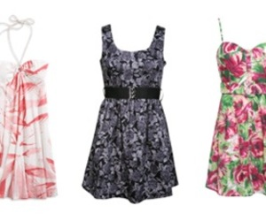 summer, knee high, and cute dresses image