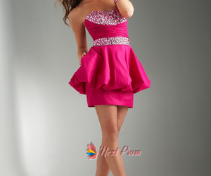 Prom, knee high, and cute dresses image