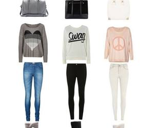 girls, fashion, and outfit image