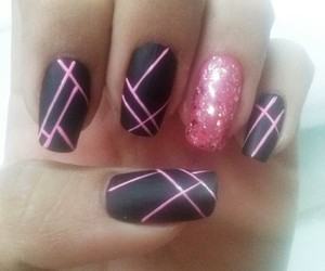 design, nails design, and manicure image