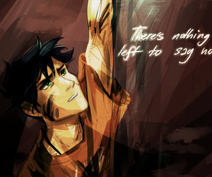 art, percy jackson, and hold on image