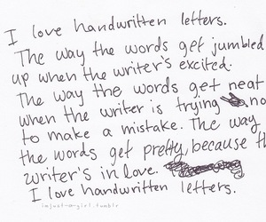 love, letters, and quotes image