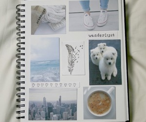 tumblr, notebook, and book image
